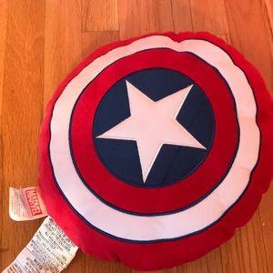Captain America mini pillow